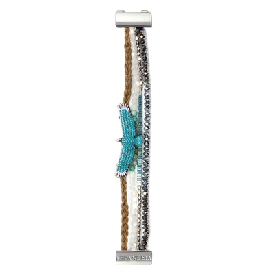 Armband Mini Blue mit blauem Adler
