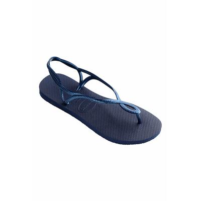 Damen Flip Flops Luna, in Blau