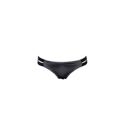 Banana Moon Teens - Bikini-Hose mit Bändern in Schwarz, Westcoast  (Hose)