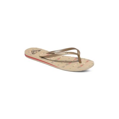 Damen Flip-Flops Bermuda, in Beige Sandfarben
