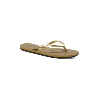 Flip-Flops für Frauen Viva, Goldfarben