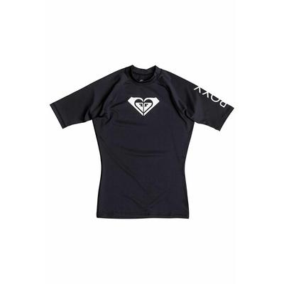 T-Shirt WholeHeartSs aus Lycra mit kurzen Ärmeln, in Schwarz