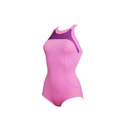 Sport-Badeanzug Figurformend Diane, in Rosa, von Laure Manaudou