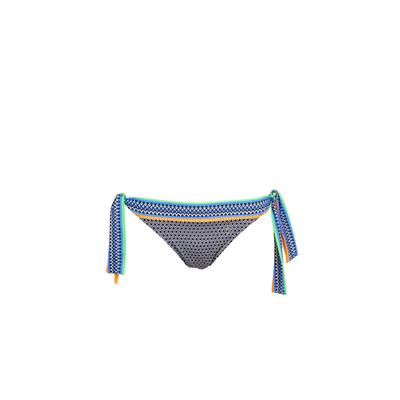 Bikini-Slip zu binden Portofino, in Schwarz (Hose)