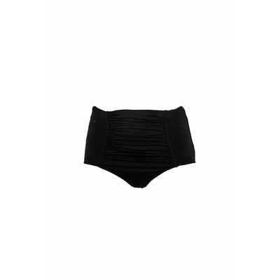 Bikini Hose High Waist in Schwarz (Hose)