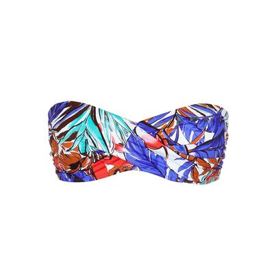 Bandeau Bikini Patchouli, bunt (Oberteil)