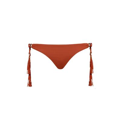 Bikini Hose Coastal Fringe in Braun (Hose)
