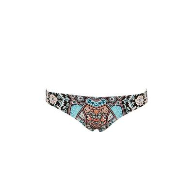 Bikini Slip mit buntem Muster Kashmir (Hose)