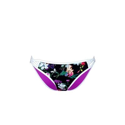 Neopren Bikini Slip in Schwarz Californian Vintage (Hose)