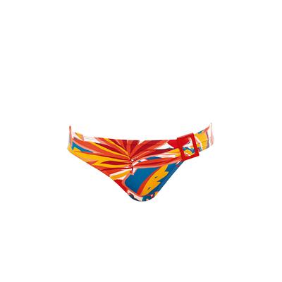 Bikini Slip mit buntem Muster Lost in Paradise (Hose)