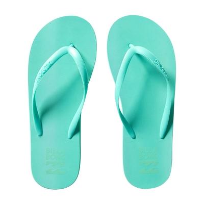 blaue Flip-Flops Carribean