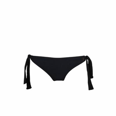 Bikini-Slip Black mit Schleifen, in Schwarz (Hose)