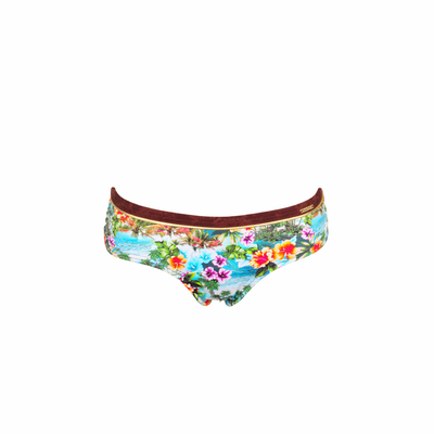 Bikini-Shorts Keebeach, in türkis (Hose)