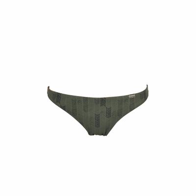 Tanga-Bikini Kilavea wendbar, in khakigrün (Hose)