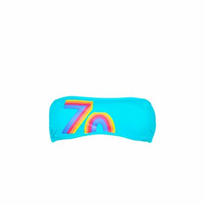Teens Bandeau-Bikini Polarize, blau (Oberteil)