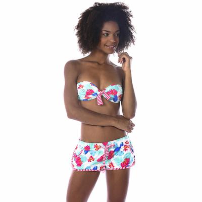 Bikini-Short Runholua, weiß