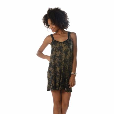 Strandkleid Blackpalms, khaki grün