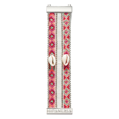 Rosafarbiges und weißes Armband Nala Twin