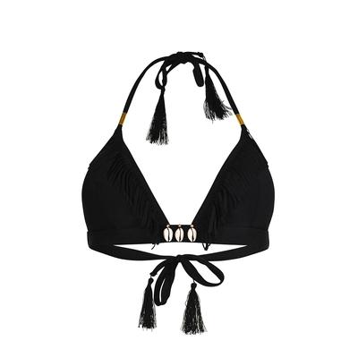 Triangel-Bikini Coryswim, schwarz (Oberteil)