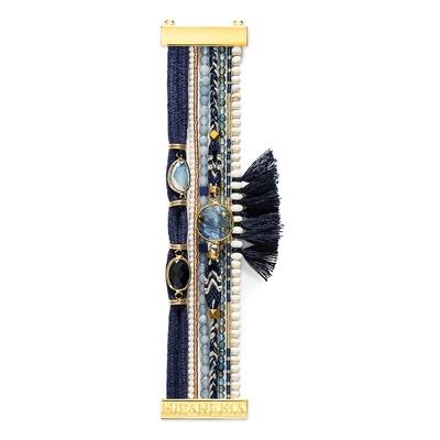 Brasilianisches Armband marine blau Athena