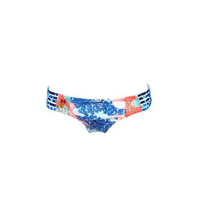 Bikini Slip, blau, wendbar (Hose)