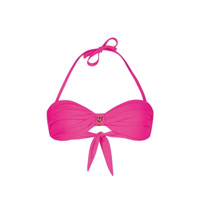 Bandeau-Bikini Uniswim, rosa (Oberteil)
