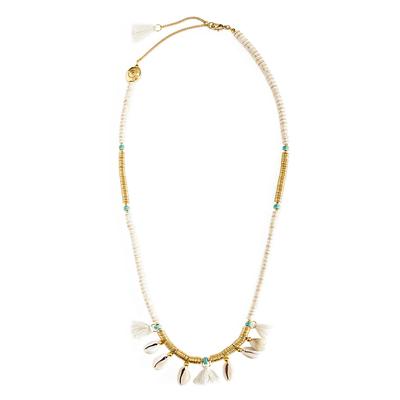 Halskette weiß Lycia