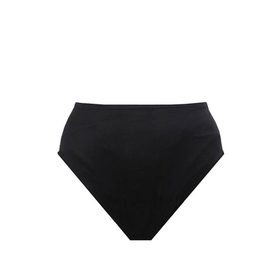High Waist Bikini Basic Brief, schwarz (Hose)