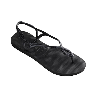 Flip-Flops Luna, schwarz