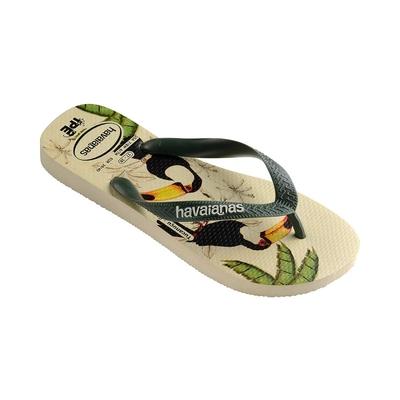 Flip-Flops Ipê Amazonia, beige gemustert