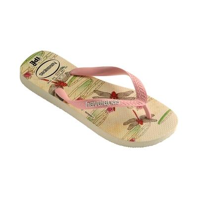 Flip Flops Ipê, beige und rosa gemustert
