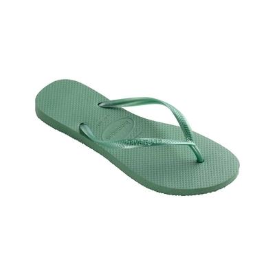 Flip-Flops Slim, grüner Tee