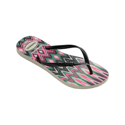 Flip-Flops Slim Tribal, bunt