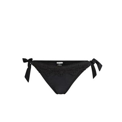 Bikini-Slip Laceswim, schwarz (Hose)