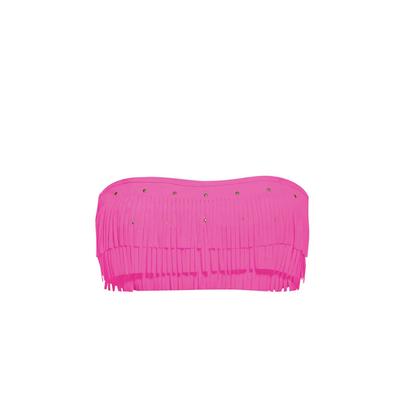 Bandeau-Bikini Tropicana Sunset, rosa (Oberteil)