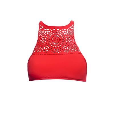 Bustier-Bikini Miramar Rhythm, rot (Oberteil)