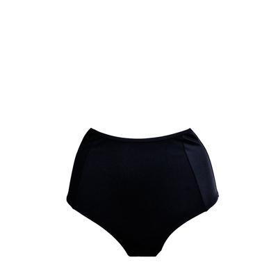schwarzer High Waist Bikini im Retro Stil