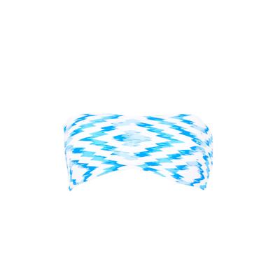 Bandeau-Bikini wendbar Fregate, blau (Oberteil)