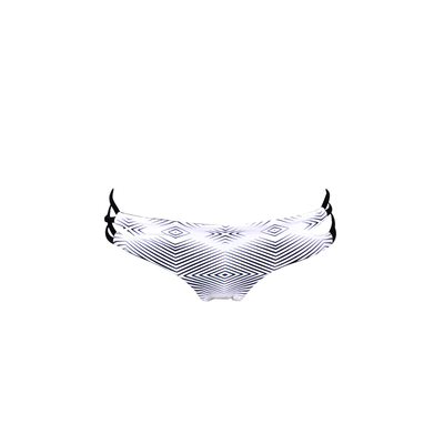 Tanga-Bikini wendbar Sivas, weiß (Hose)
