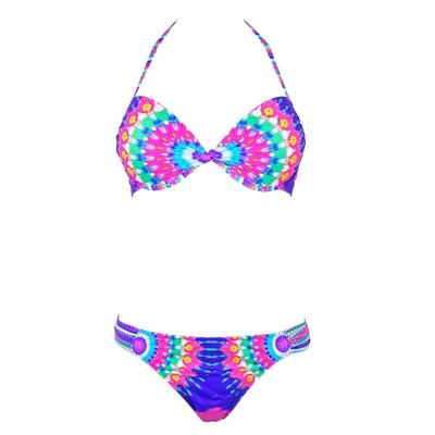Push up Bikini SunPower, rosa