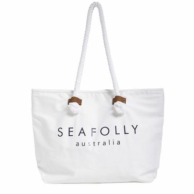 Strandtasche, in weiß