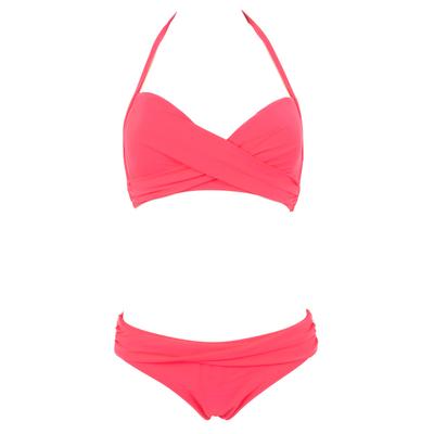 Bikiniset Wrap, in rosa koralle