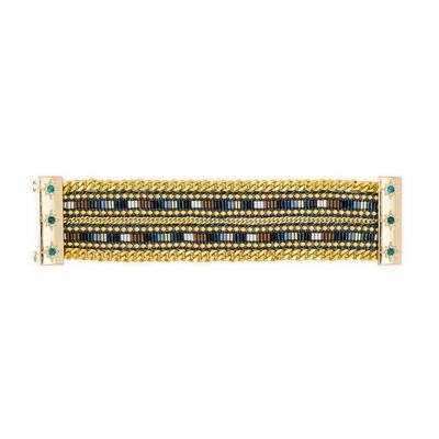 Brasilianisches Armband Cary, goldfarben