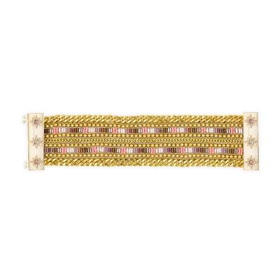 brasilianisches Armband Evy, goldfarben