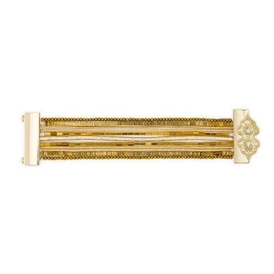 Brasilianisches Armband Santafe, goldfarben