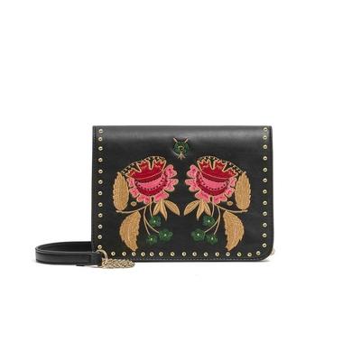 Handtasche Roze, in schwarz