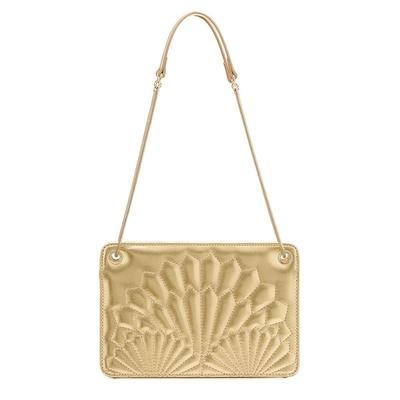 Handtasche Maelly, goldfarben