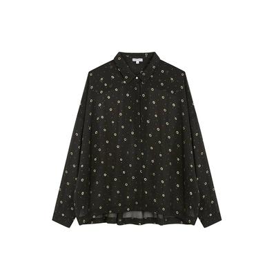 Bluse Flora, in schwarz