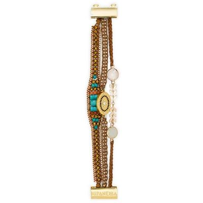 Brasilianisches Armband Gilda, braun