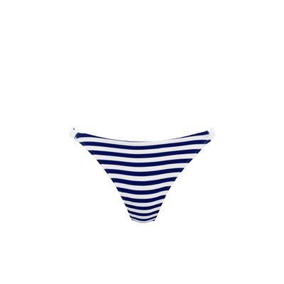 Bikini-Slip Drift Away, blau weiß gestreift (Hose)